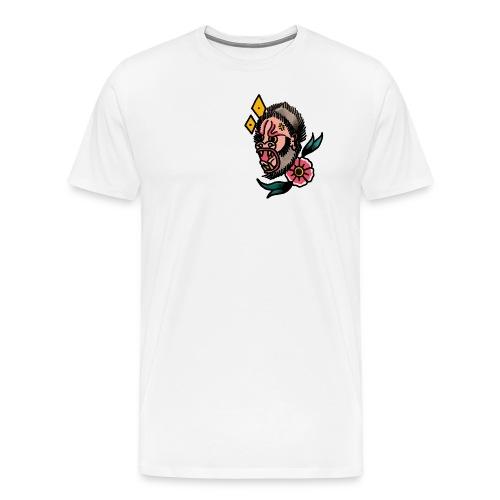 Gorille Old School - T-shirt Premium Homme