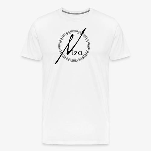 Niza Logo Schwarz - Männer Premium T-Shirt