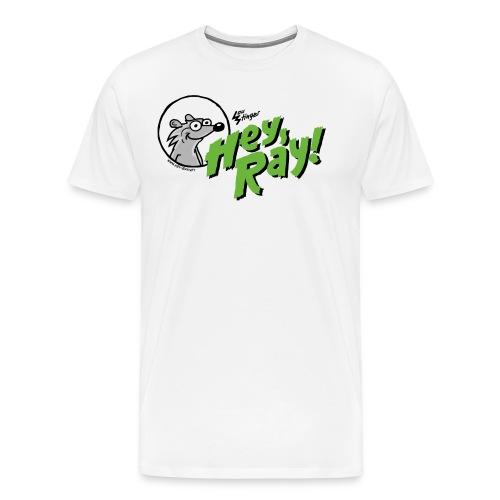 Hey Ray Logo green - Männer Premium T-Shirt