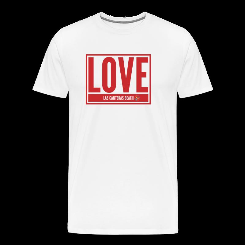 Love Las Canteras - Camiseta premium hombre