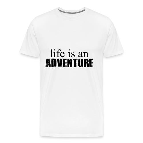 life is an ADVENTURE - Männer Premium T-Shirt