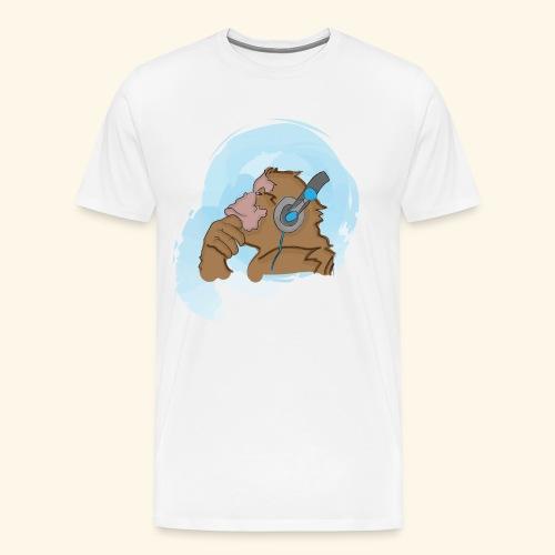 Singe musical - T-shirt Premium Homme