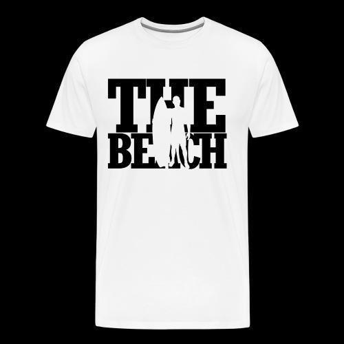 the beach mit surfer - Men's Premium T-Shirt