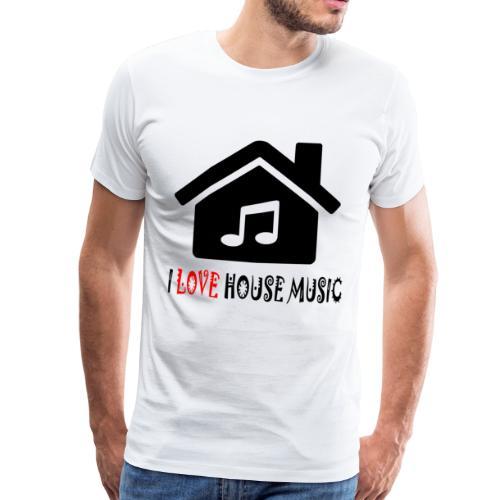 House Music Haus Party Shirt - Männer Premium T-Shirt