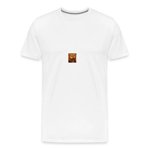 løve trøje - Herre premium T-shirt