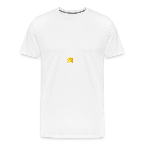 Wit en black - Mannen Premium T-shirt