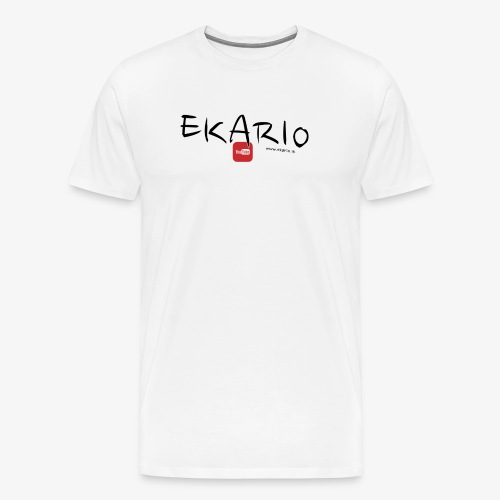 EKARIO - Maglietta Premium da uomo