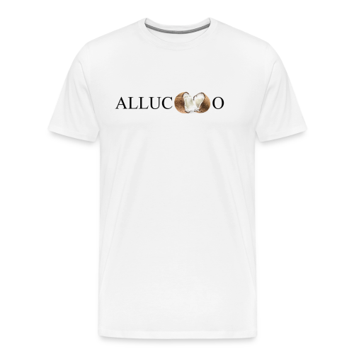 Allucoco blanco - Camiseta premium hombre