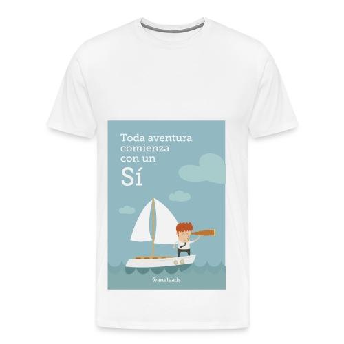 """Camiseta """"Toda Aventura"""" de Wanaleads - Camiseta premium hombre"""