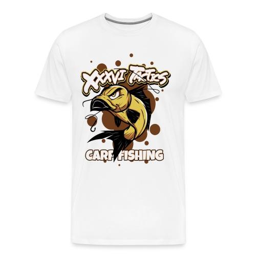 Carp fisching - karpfenangeln - by XXXVI TACTICS - Männer Premium T-Shirt