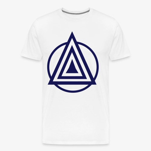 Zentara Circle NEON C - Männer Premium T-Shirt