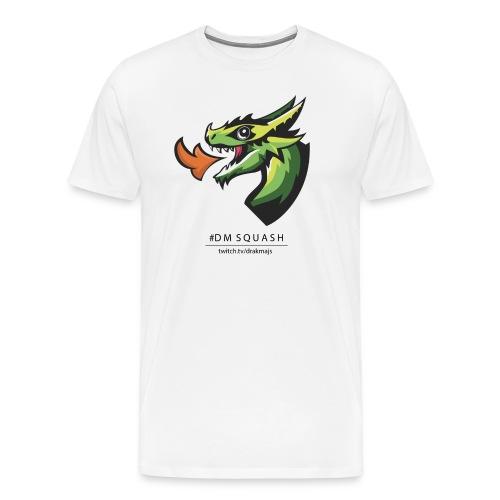 Draken med svart text - Premium-T-shirt herr