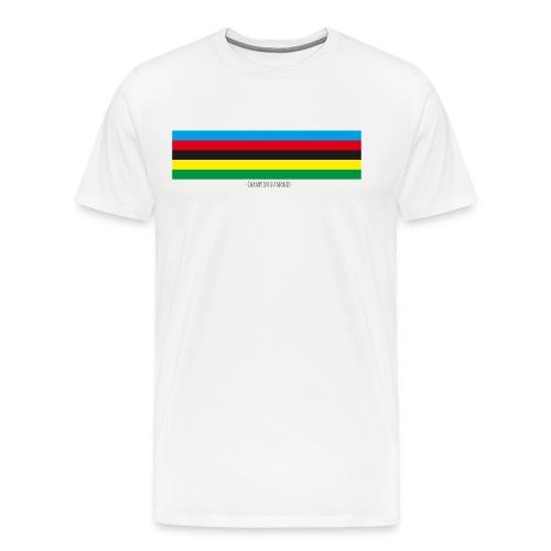 wereldkampioen wielrennen - Mannen Premium T-shirt
