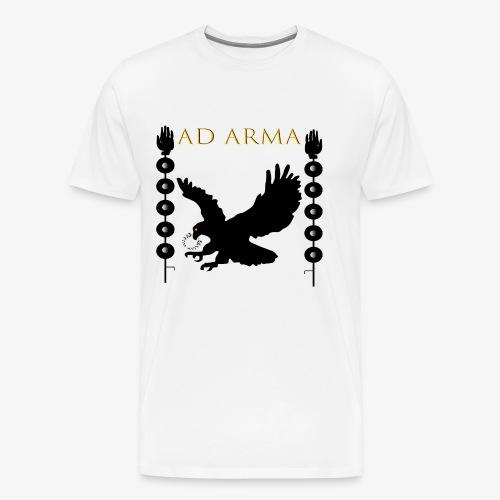 Adler Feldzeichen - Männer Premium T-Shirt