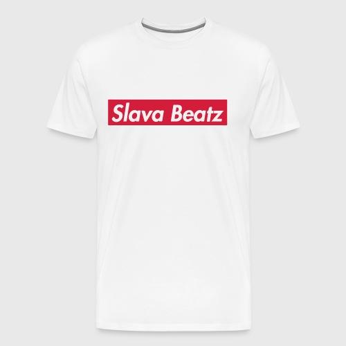 Slava Beatz Sup.-Logo - Männer Premium T-Shirt