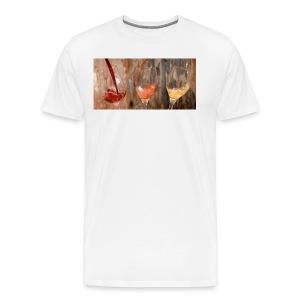 LES 3 VINS 3F - T-shirt Premium Homme