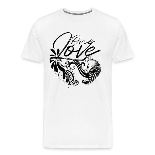 One Love (Dark Label) - Männer Premium T-Shirt