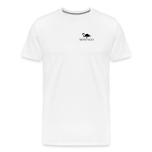 Moningo Flamingo - Premium T-skjorte for menn