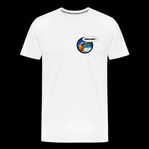 Insolent Tranquillement - T-shirt Premium Homme