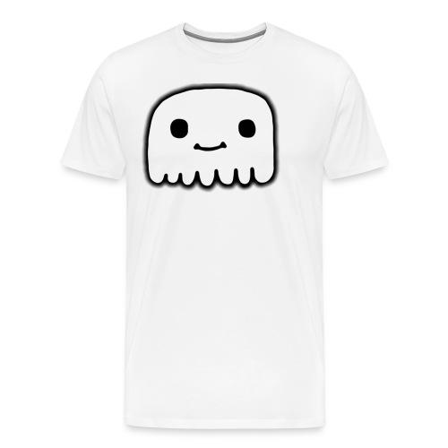 GhostCloth schlichter Geist - Männer Premium T-Shirt