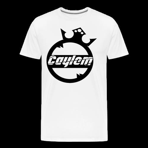 Caylem Logo Schwarz - Männer Premium T-Shirt