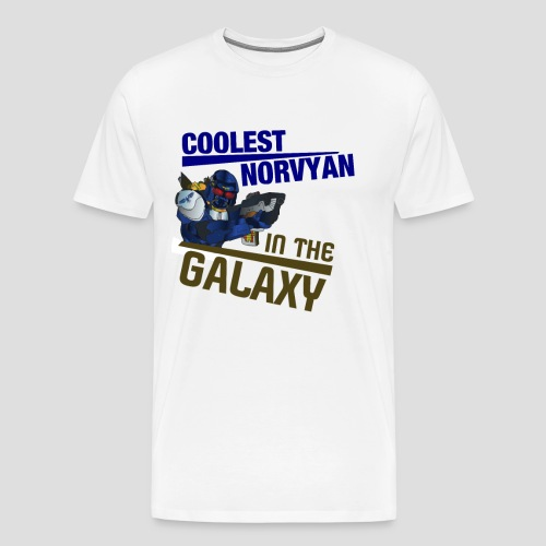 Coolest Norvyan in the Galaxy - Männer Premium T-Shirt