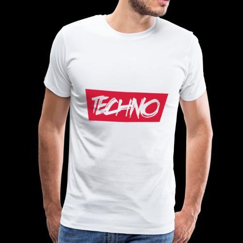 Techno Goa Minimal Shirt Hoodies und mehr - Männer Premium T-Shirt