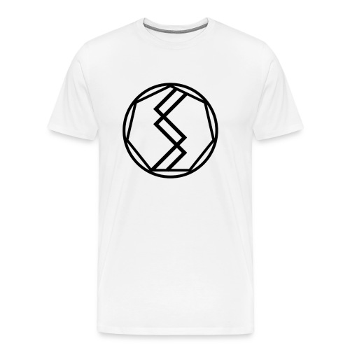 Silent Science Logo (Black) - Men's Premium T-Shirt
