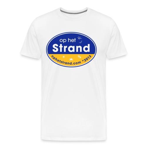 Op het Strand - Mannen Premium T-shirt