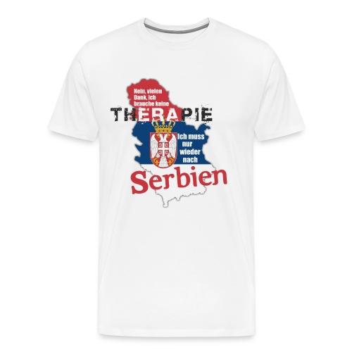 Serbien - Männer Premium T-Shirt