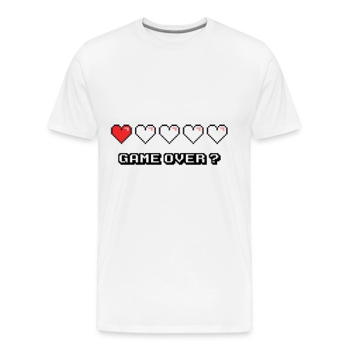 Game Over ? - T-shirt Premium Homme