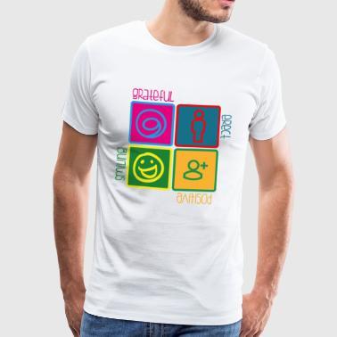 4cose popart3 - Männer Premium T-Shirt