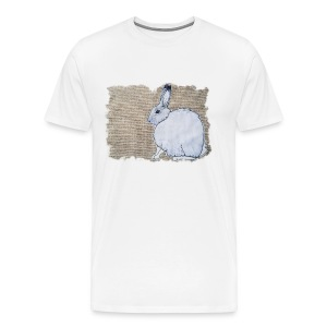 Arctic Hare Design - Men's Premium T-Shirt