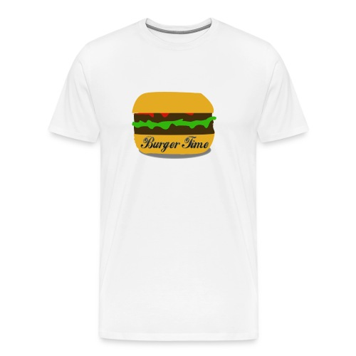 Burger Time - T-shirt Premium Homme