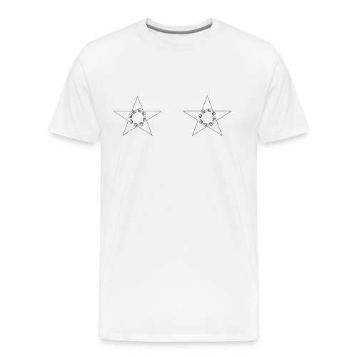 double stars - T-shirt Premium Homme