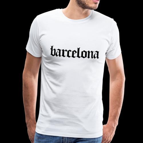 Barcelona Spanien Spain - Männer Premium T-Shirt