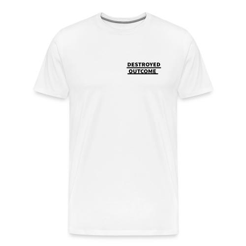 Destroyed outcome's logo of 2018 - Men's Premium T-Shirt