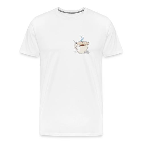 Caffè - Maglietta Premium da uomo