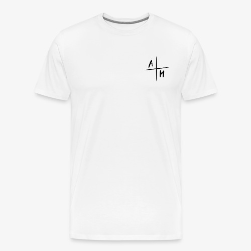 AltijdMitchell Cross Logo - Mannen Premium T-shirt