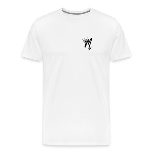 ItzManzey (OFFICIAL WHITE TOPS AND HOODIES) - Men's Premium T-Shirt
