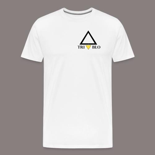TRIABLO WHITE - Maglietta Premium da uomo