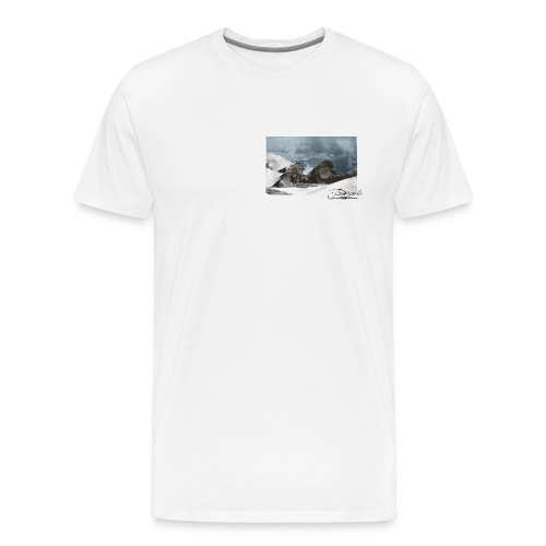 Mountains Colorized - Camiseta premium hombre