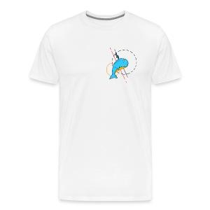 Baleine Cartoon - T-shirt Premium Homme