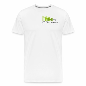 mea IT Services weiß - Männer Premium T-Shirt