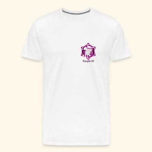 PURPLE FC - Camiseta premium hombre