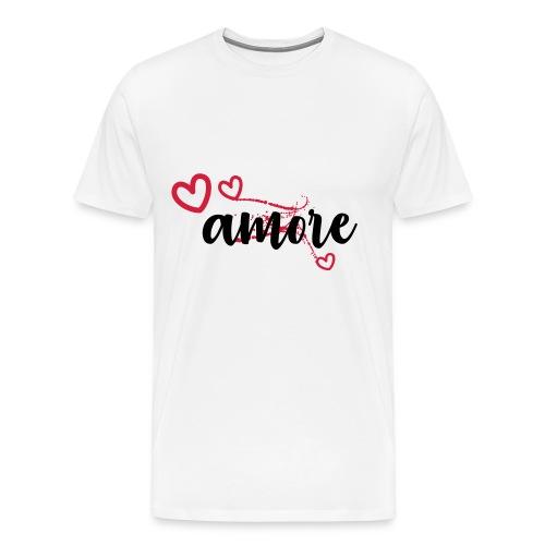 amore - Men's Premium T-Shirt