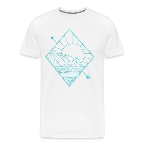 Alaska blue - Männer Premium T-Shirt