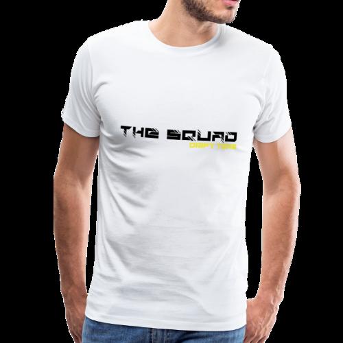 The Squad Logo Sort - Herre premium T-shirt