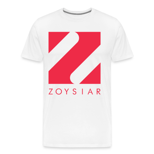 Zoysiar - Logo Collection | White - Männer Premium T-Shirt