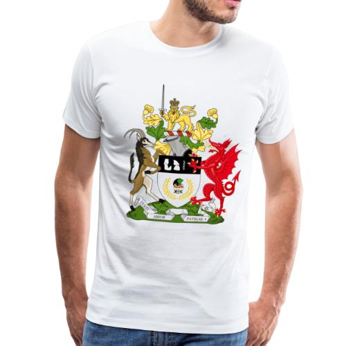 Coat of Arms of Kekistan - Mannen Premium T-shirt